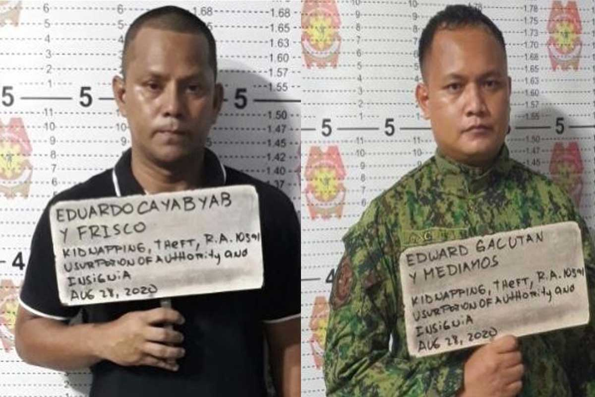2 ex-cops nabbed for try to kidnap Chinese nat'l