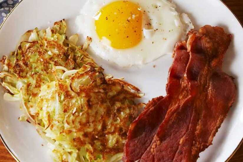 Cabbage Hashbrowns