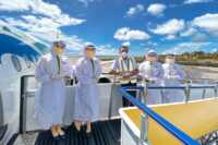 Cebu Pacific crew in full PPE