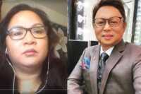Sarah Balabagan and Arnold Clavio