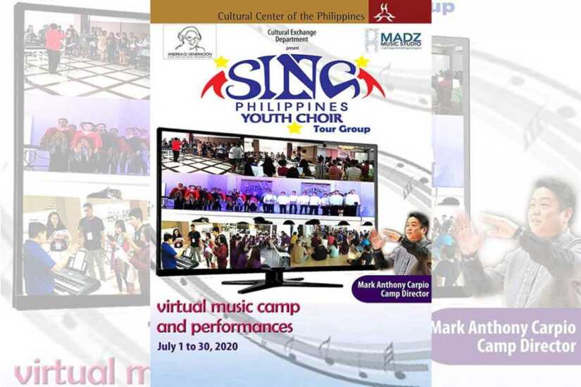 Sing Philippines Youth Choir virtual music camp and performances
