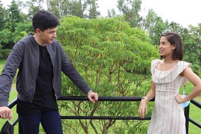 Alden Richards and Jasmine Curtis-Smith