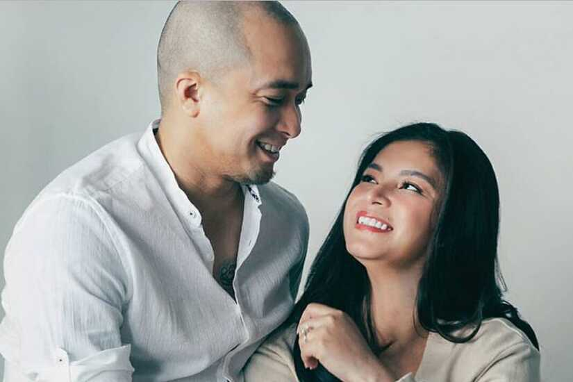 Angel Locsin and Neil Arce