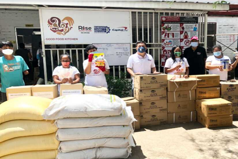 Capital One and Rise Against Hunger