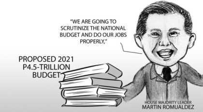 Caricature: 2021 national budget