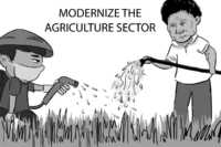 Caricature: PH agriculture
