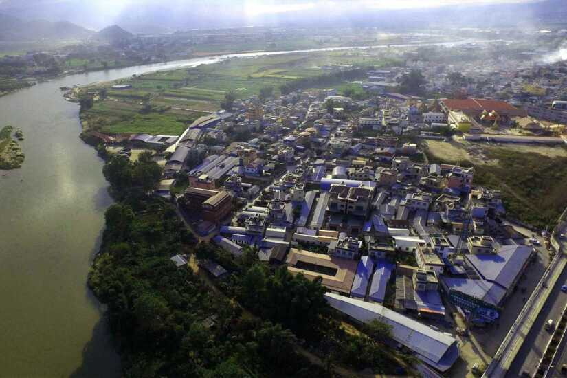 City of Ruili, Yunnan Province