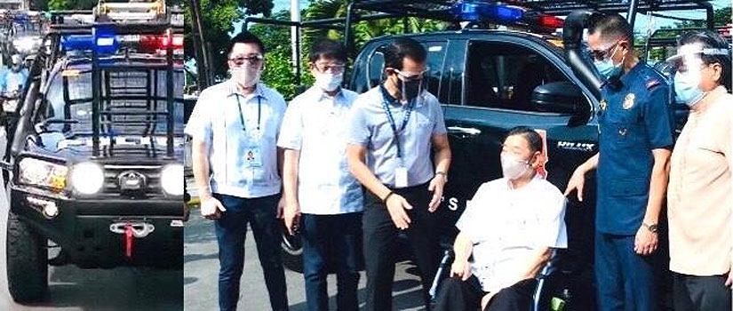 Isko Moreno 6 SWAT vehicles from FFCCCII