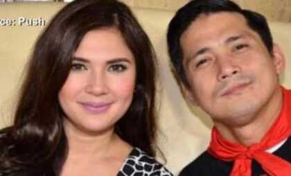 Vina Morales and Robin Padilla