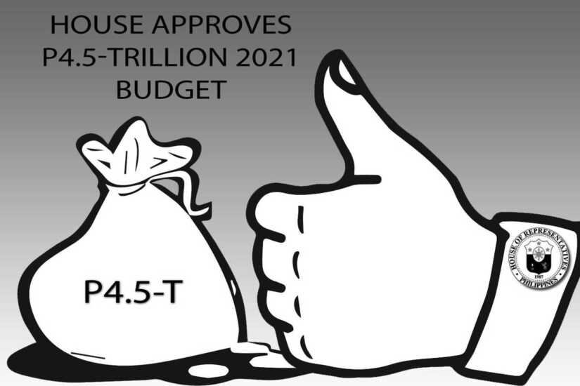 House approves P4.5 - trillion 2021 budget