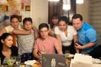 Maine Mendoza and Arjo Atayde's family