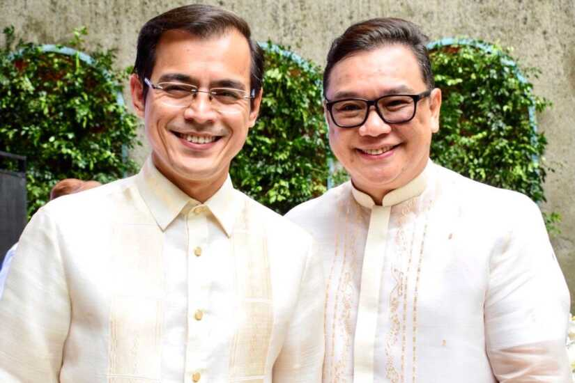 Isko Moreno and Charlie Dungo