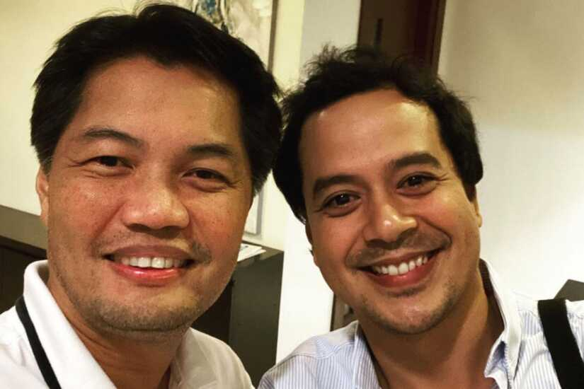 Albee Benitez and John Lloyd Cruz