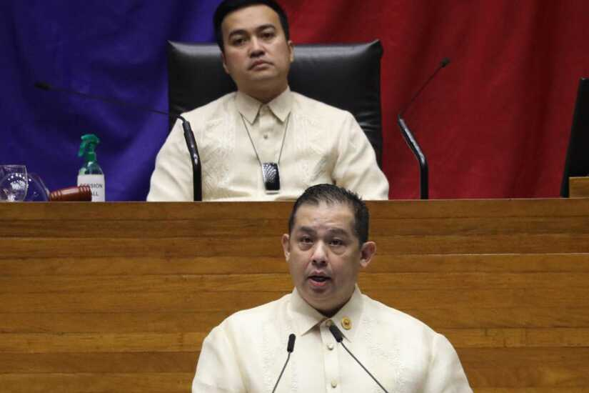 Martin Romualdez and Lord Allan Velasco
