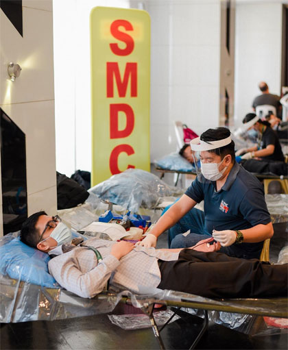 SM blood donation