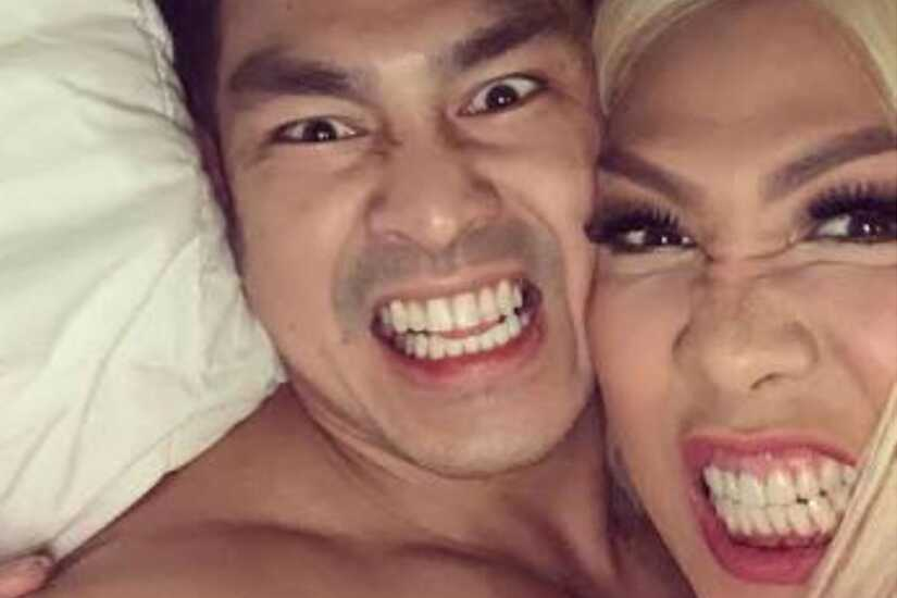Vice Ganda and Ion Perez