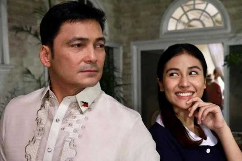 Gabby Concepcion and Sanya Lopez