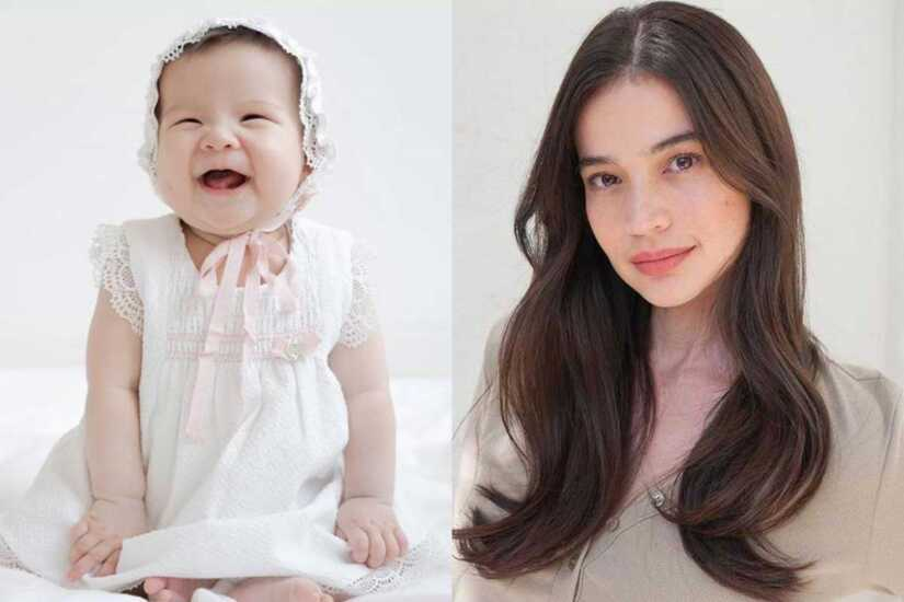 Anne Curtis and Baby