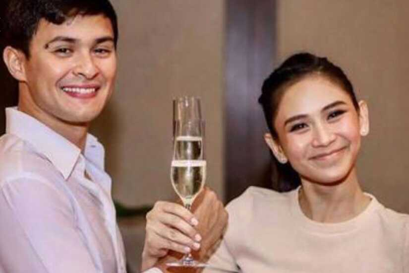 Matteo Guidicelli and Sarah Geronimo