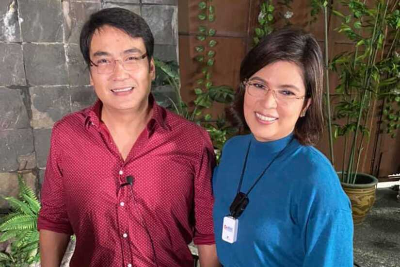 Bong Revilla and Lani Mercado