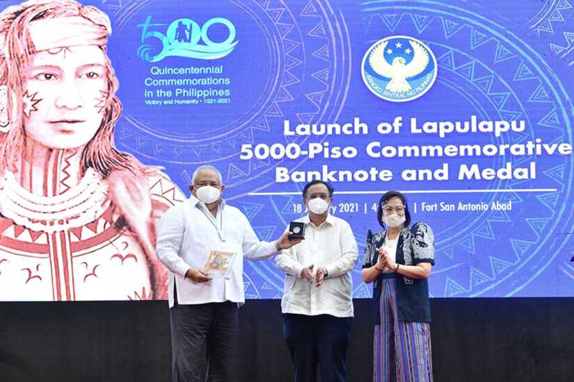 5000 Lapulapu commemorative note