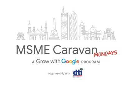 Google and DTI MSME Caravan Mondays