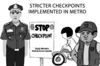 checkpoints in metro